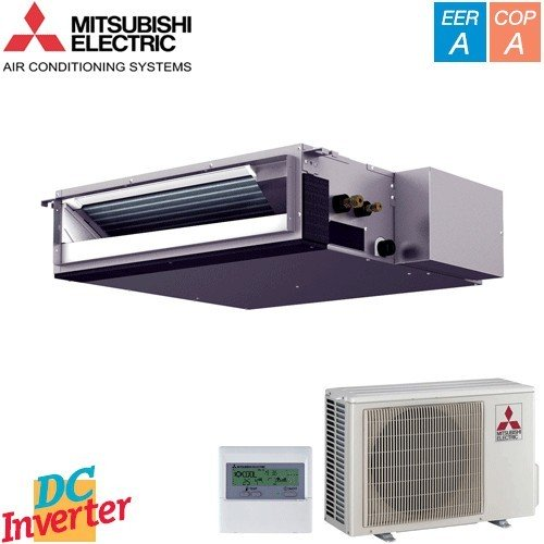 Aer Conditionat DUCT MITSUBISHI ELECTRIC SEZ-KD35VAQ Standard Inverter 12000 BTU/h