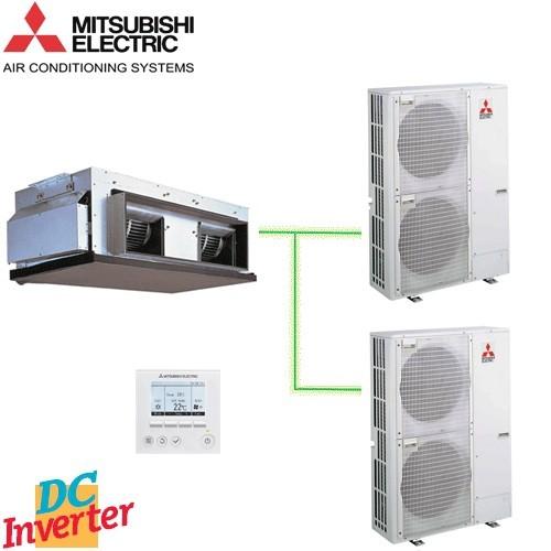 Aer Conditionat DUCT MITSUBISHI ELECTRIC PEA-RP400GAQ Standard Inverter 152000 BTU/h